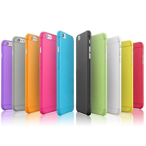 Кейс для Назначение Apple iPhone 8 iPhone 8 Plus iPhone 6 iPhone 6 Plus iPhone 7 Plus iPhone 7 Ультратонкий Кейс на заднюю панель