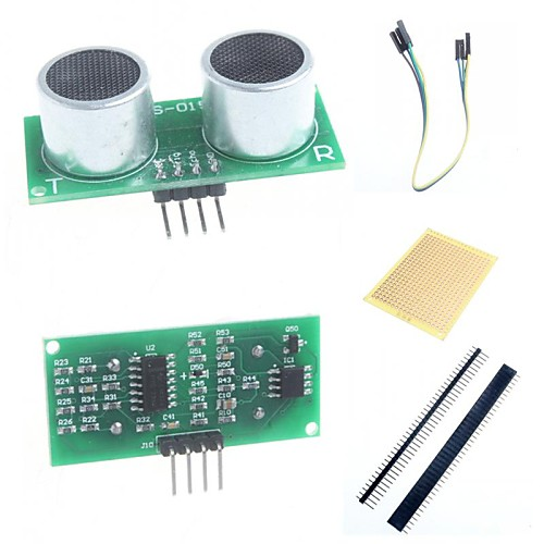 США 015 ультразвуковой модуль датчик расстояния и аксессуары для Arduino измерения