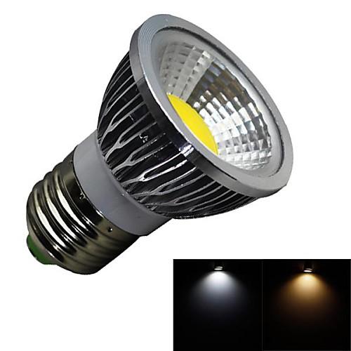 3 Вт. 280 lm E26/E27 Точечное LED освещение 1 светодиоды COB Диммируемая Тёплый белый Холодный белый AC 100-240 В цена