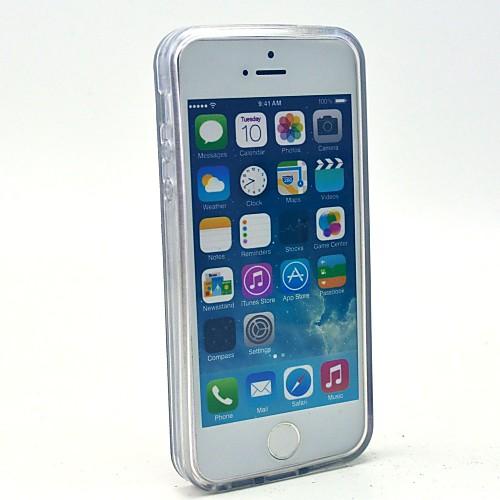 """Стильный мягкий чехол с принтом """"""""Белые буквы"""""""", для IPhone 5C от MiniInTheBox.com INT"""