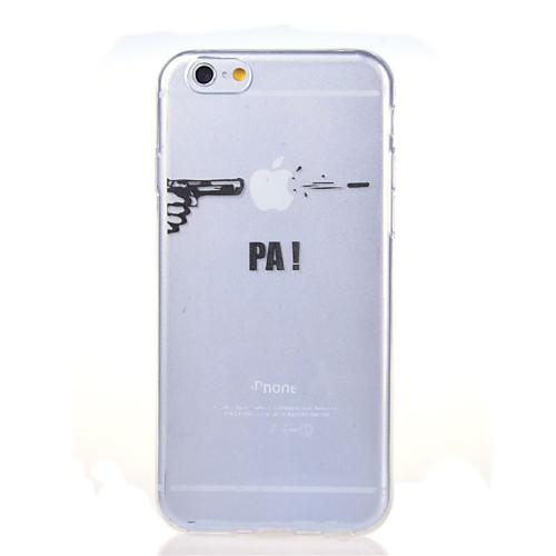 Кейс для Назначение Apple iPhone 8 iPhone 8 Plus iPhone 6 iPhone 6 Plus iPhone 7 Plus iPhone 7 Ультратонкий Прозрачный С узором Кейс на