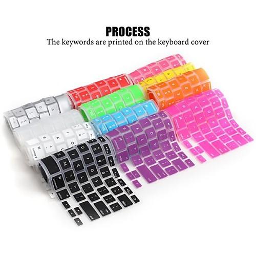 lention Мягкий прочный Силиконовые клавиатуры Обложка кожи для переносных компьютеров Apple MacBook Air MacBook Pro 13/15/17 (ассорти silicone keyboard protective cover for apple macbook pro 13 15 17 red