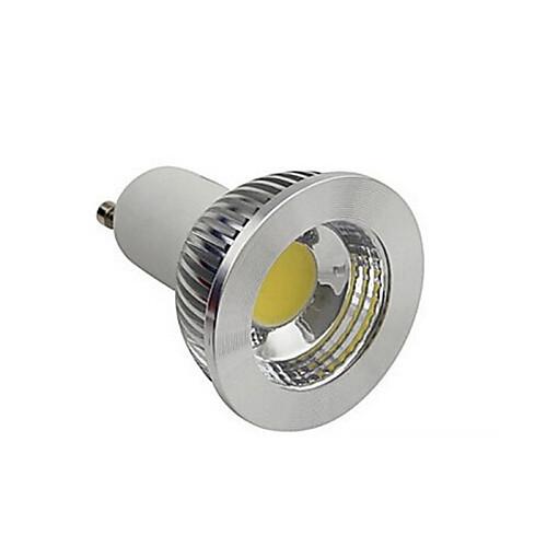 3 Вт. 250-300 lm GU10 Точечное LED освещение 1 светодиоды COB Тёплый белый Холодный белый AC 220-240V