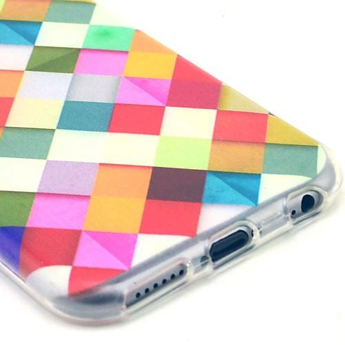 Стильный чехол с цветным принтом для IPhone 5C от MiniInTheBox.com INT