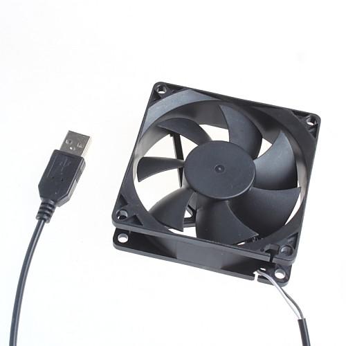 8 см серверный корпус бесшумный вентилятор / компьютер вентилятор охлаждения 5V