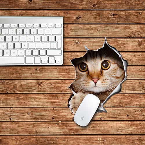 дизайн кошки декоративные коврики для мыши mac skin наклейки mac аксессуары