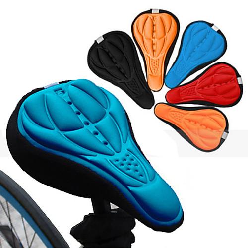 Купить со скидкой Чехол на седло / Подушка Дышащий Комфорт 3D-панель Силикон силикагель Велоспорт Шоссейный велосипед