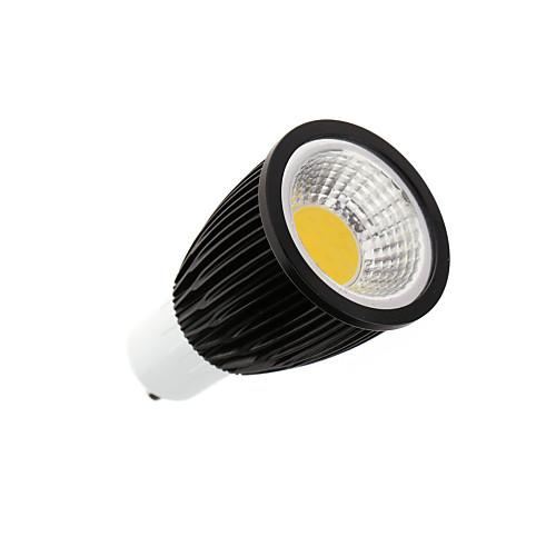3000-3500lm GU10 Точечное LED освещение MR16 1 Светодиодные бусины COB Тёплый белый / Холодный белый 100-240V