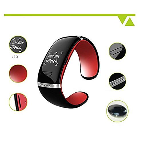 L12S умный Bluetooth v3.0 браслет часы музыкальный плеер звонок ответа (ассорти цветов)