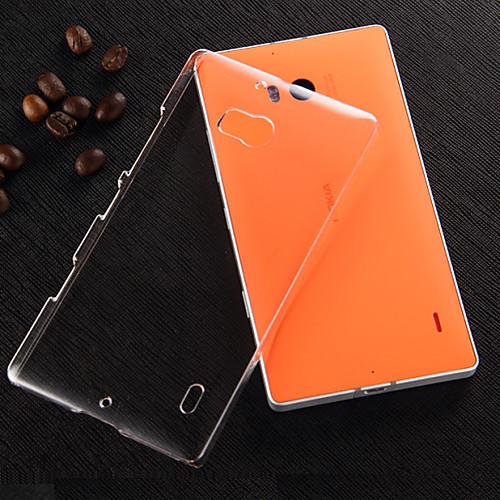 Прозрачный жесткий чехол для ПК Nokia Lumia 930