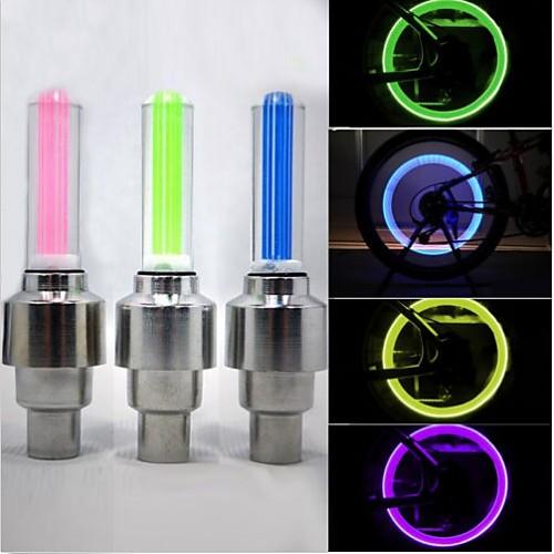 Велосипедные фары / Колесные огни / колесные огни Светодиодная лампа - Велоспорт Водонепроницаемый 50 lm Батарея Велосипедный спорт