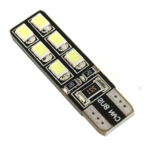 SO.K 2pcs T10 Автомобиль Лампы 2.2 W SMD LED 12 Лампа поворотного сигнала For Универсальный цена