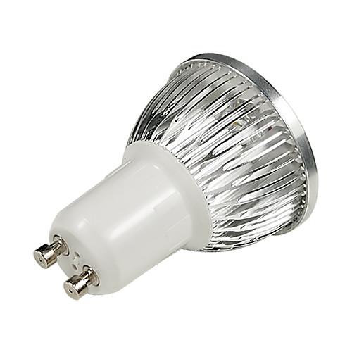 6W GU10 Точечное LED освещение 4 Высокомощный LED 530-580 lm Холодный белый AC 100-240 V 10 шт. от MiniInTheBox.com INT