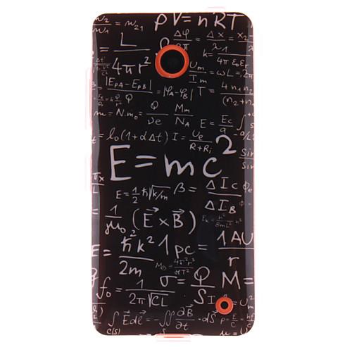 Функция формула дизайн ТПУ IMD мягкое покрытие для Nokia Lumia N630