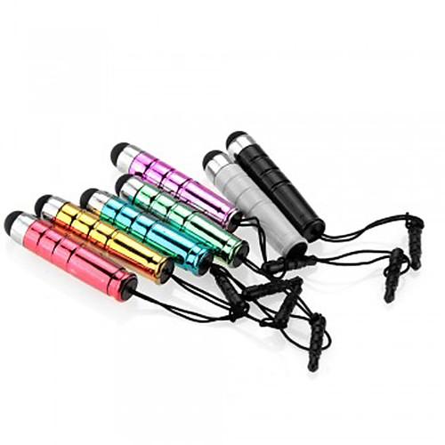 kinston 7 х пуля Выдвижной емкостный сенсорный ручка с анти-сумрака штекер наушников для iPhone / IPad / Samsung и других