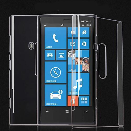 Прозрачный PC задняя крышка чехол для Nokia Lumia 920