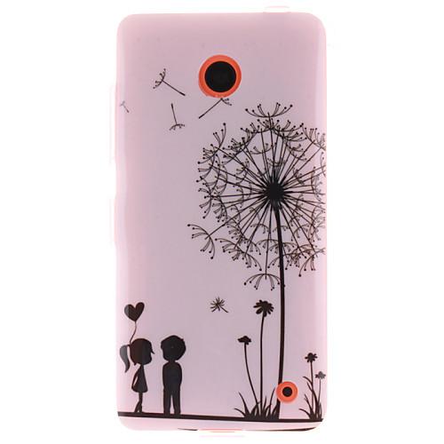 одуванчик и дизайн ТПУ любителей IMD мягкое покрытие для Nokia Lumia N630