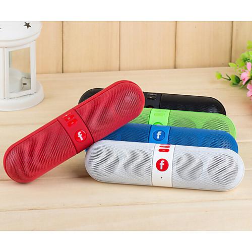 Беспроводные колонки Bluetooth 2.0Переносной / На открытом воздухе / Поддержка FM / С поддержкой карт памяти / Поддержка USB диск /