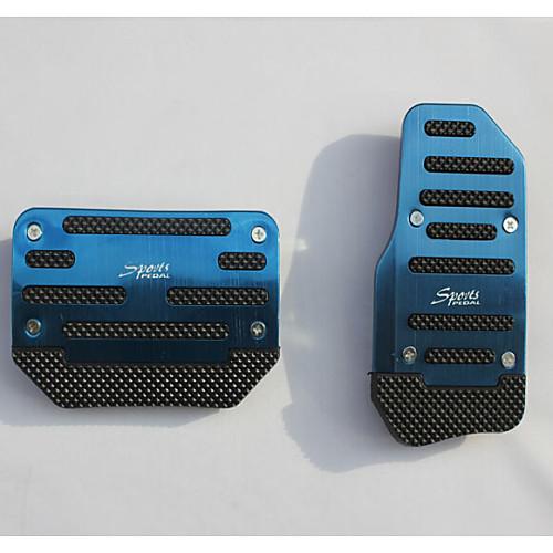 алюминий занос автомобиля педаль акселератора педаль тормоза применяются к автоматическим автомобилей передачи (разные цвета)