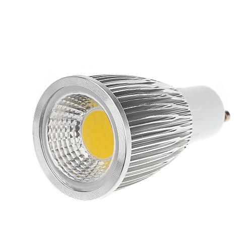 5 Вт. 450-550 lm GU10 Точечное LED освещение MR16 1 светодиоды COB Тёплый белый Холодный белый AC 100-240 В