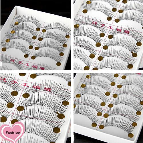 Глаза Ресницы 10 Повседневный макияж Классика Высокое качество Повседневные косметика швейцария