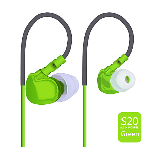 Plextone S20 Наушники-вкладышиForМедиа-плеер/планшетный ПК Мобильный телефон КомпьютерWithС микрофоном DJ Регулятор громкости FM-радио от MiniInTheBox.com INT