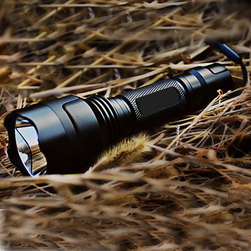 Светодиодные фонари Светодиодная лампа 200lm 5 Режим освещения с батареей и зарядным устройством Перезаряжаемый / Тактический Походы /