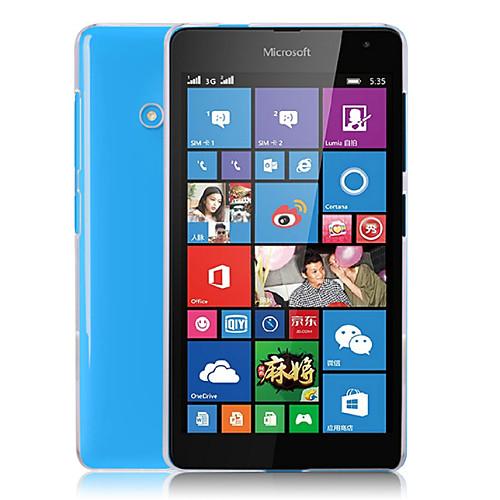 Прозрачная задняя крышка крышка для ПК Майкрософт Lumia 535 / Nokia Lumia n535
