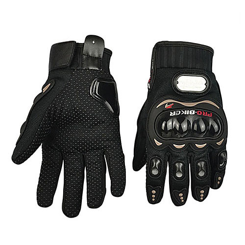 Мотоцикл перчатки Полный палец Полиуретан/Хлопок/Нейлон/Пластик ABS M/L/XL Красный/Черный/Синий фото