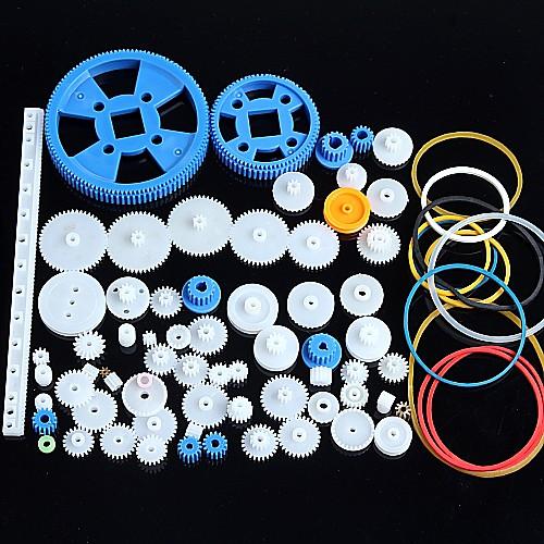 80 видов пластиковых привод зубчатого редуктора пакет робот комплекта принадлежностей