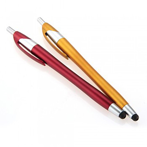 kinston 2 х 2in1 емкостный сенсорный экран стилусом с шариковой ручкой шариковой ручкой для iPhone / Ipod / Ipad / Samsung и другие