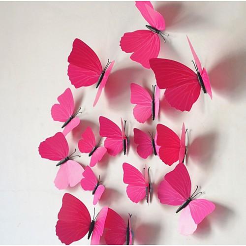 Животные Наклейки 3D наклейки Декоративные наклейки на стены Наклейки на холодильник, Винил Украшение дома Наклейка на стену Стена наклейка злой холодильник