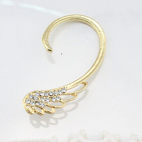 Women's Ear Cuff Climber Earrings Ladies Birthstones Earrings Jewelry Silver / Golden For Wedding Party Daily Casual