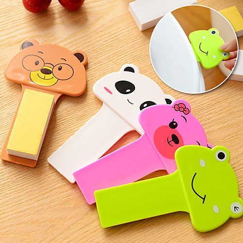 Cute Cartoon Home Sanitary Toilet Seat Handle Stick Lifting a Seat (Random Color) 4.13 x 2.36 x 0.39 (inches)
