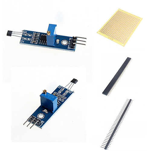 датчик зал модуль датчика Модуль переключатели и аксессуары для Arduino