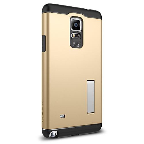 Кейс для Назначение SSamsung Galaxy Samsung Galaxy Note Защита от удара со стендом Кейс на заднюю панель броня ПК для Note 4 чехол для для мобильных телефонов rcd 4 samsung 4 for samsung galaxy note 4 iv