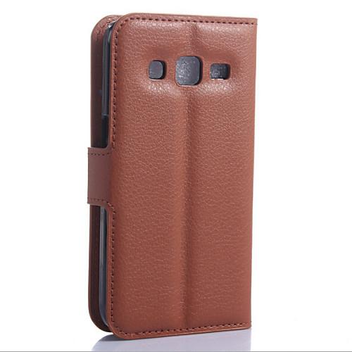 Кожаный чехол с карманом для карточек для Samsung GALAXY Core Prime (разные цвета) от MiniInTheBox.com INT