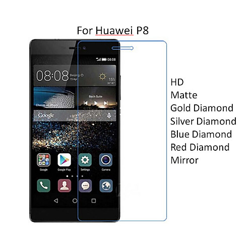 10шт HD протектор прозрачный экран пленка для Huawei P8