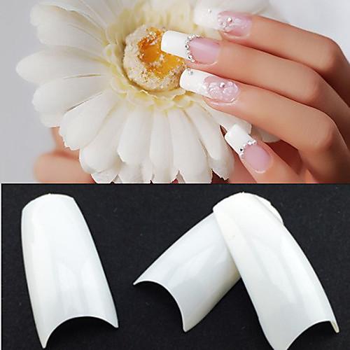 маникюр Полностью накладные ногти Полу-накладные ногти Абстракция Классика Свадьба Высокое качество Повседневные накладные ногти kiss твердый лак impress manicure рокнролл длина короткая