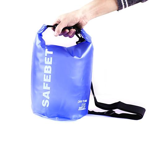 5L Путешествия Вещевой / Водонепроницаемый сухой мешок Легкие, Плавающий, Водонепроницаемость для Серфинг / Дайвинг / Плавание
