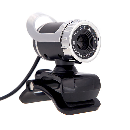 USB 2.0 12 м HD камера веб-камера 360 градусов с микрофоном Clip-on для ПК настольный компьютер skype ноутбук ПК телефон как веб камера через usb