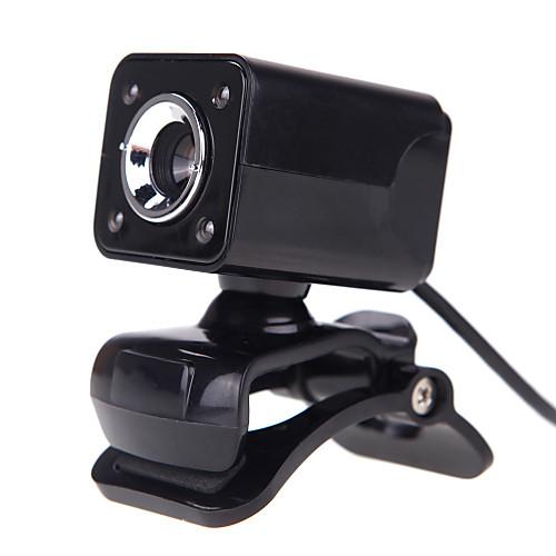 4LED USB 2.0 12 м HD камера Веб-камера с микрофоном клип на ночного видения 360 градусов для рабочего стола Skype Компьютер PC ноутбук веб камеры пензы
