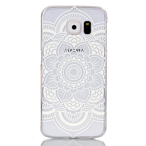 Кейс для Назначение SSamsung Galaxy Кейс для Samsung Galaxy Прозрачный Кейс на заднюю панель Мандала ПК для S6 edge S6 S5 Mini S5 S4