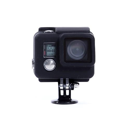 Гладкая Рамка защитный футляр Для Экшн камера Gopro 4 Black Gopro 4 Silver Gopro 4 Gopro 3 Ластик - 1