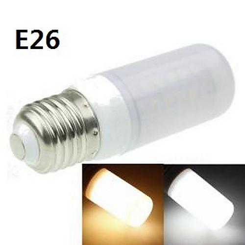 9W E14 / G9 / GU10 / B22 / E26/E27 LED лампы типа Корн T 48 SMD 5630 1400-1800 lm Тёплый белый / Холодный белый Декоративная AC 220-240 V от MiniInTheBox.com INT
