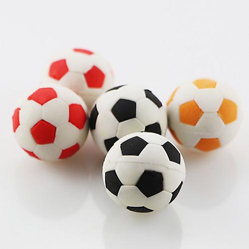 Симпатичный футбольный футбол собирать резиновый ластик школьник детский подарок