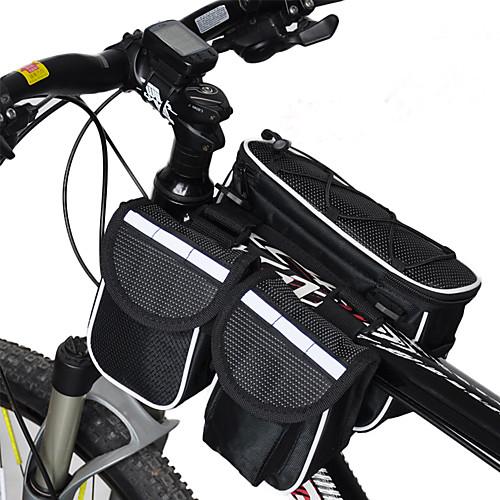 Acacia <10 L Бардачок на раму Дожденепроницаемый, Многофункциональный Велосумка/бардачок 600D Ripstop Велосумка/бардачок Велосумка Велосипедный спорт / Велоспорт