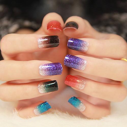 3D-стикеры для ногтей Мультяшная тематика / Мода Милый Повседневные