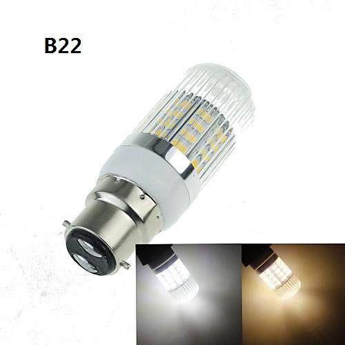 SENCART 4 Вт. 3000-3500/6000-6500 lm E14 G9 GU10 E26/E27 B22 LED лампы типа Корн 40 светодиоды SMD 5630 Декоративная Тёплый белый