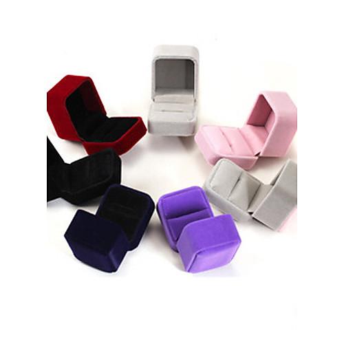 6 5 4 см фланель / серьги / кольцо / ювелирные коробки 1шт элегантный стиль